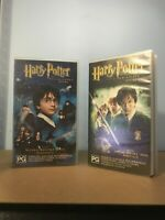 Harry Potter And The Philosophers Stone And The Chamber Of Secrets Vhs