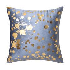 Logan and Mason Spritz Blue Filled Square Cushion 45cm x 45cm