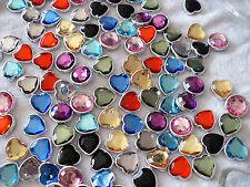 Joblot of 100pcs Plastic Pendants for Jewellery making & crafts - New wholesale