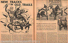 "Red Ryder & Little Beaver ""New Tracks In Old Trails"" -Anderson,Autry,Burke,"