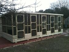 DOG KENNELS & RUNS BLOCK OF 5 ***UK DELIVERY AVAILABLE***