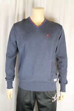 Fenchurch Mens Blue V Neck Jumper  Size Medium  (31TC)