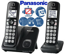 Panasonic Expandable Cordless Phone System w/ Call Block 2 Handsets KX-TGD512B