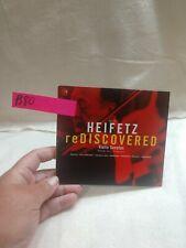(B80) Jascha Heifetz Rediscovered. Violin Sonatas (CD, May-2002, RCA)
