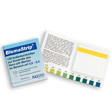 pH-Teststreifen mit Anleitung und Tabelle