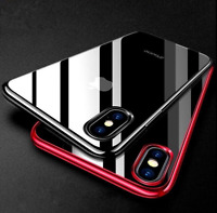 iPhone 7 8 Case - Clear Ultra Thin Shockproof Protective Silicone Bumper Cover
