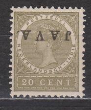 Nederlands Indie Netherlands Indies 74f MNH JAVA KOPSTAAND 1908 Very Fine