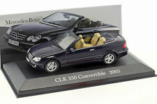 Mercedes Benz CLK 350 (A209) Baujahr 2005 blau 1:43 Ixo Altaya