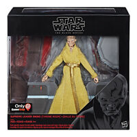"Star Wars Hasbro Black Series Supreme Leader Snoke (Throne Room) 6"" Figure"
