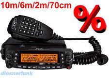 TYT TH-9800 Mobilfunkgerät Quadband 10m/6m/2m/70cm - NEUESTE VERSION D-Anleitung