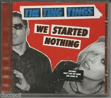 THE TING TINGS - We started nothing - CD 2008 MINT CONDITION
