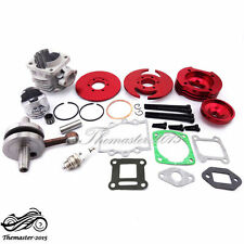 44mm Big Bore Kit Cylinder 2 Stroke For 47 49cc Mini Dirt ATV Engine Pocket Bike
