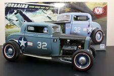 1:18 Gmp 1932 Ford Coupé F432 USN Bleu A1805001 The Corsairs en Stock par Acme