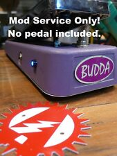 Modify your Budda Bud-Wah Mod Service Only! LED Upgrade Alchemy Audio