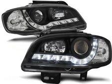 LED FARI ANTERIORI LPSE20 SEAT IBIZA / CORDOBA MK III 1999 2000 2001 2002 NERO