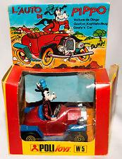 Disney Goofy Pippo MI Box Politoys W5 Car Italy Diecast