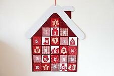 Felt House Advent Calendar 24 pocket large wall Hanging
