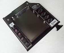 2nd SATA Hard Drive Bay Caddy DELL LATITUDE SERIE E Van E6400 E6500 M2400 M4400 NUOVO