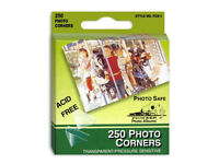 Pioneer Clear Photo Corners (Same Shipping Any Qty)