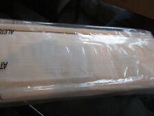 Pottery Barn Emery Linen/Cotton blackout  Roman shade cordless white  26 64