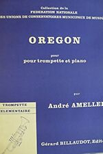 Oregon pour trompette et piano