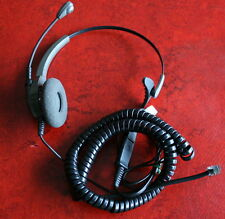 Plantronics Encore, profess. Telefon-Headset+Kabel+Schnellkupplung mit Kopfbügel