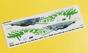 FAST AND FURIOUS SUPRA PAUL WALKER 24th scale stickers decals 1/24