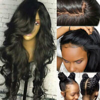 8A 1B Real Brazilian Virgin Human Hair Silk Top Full Lace Wig 360 Lace Frontal s