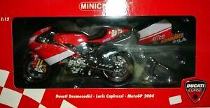 DUCATI DESMOSEDICI MOTO GP 2004 Loris CAPIROSSI 1/12 Minichamps RARE MINT