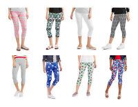 No Boundaries Juniors' Essential Capri Leggings in Sizes 2XL~XL~L~XS