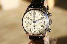 FANTASTIC JAEGER LE COULTRE VINTAGE CHRONOGRAPH WATCH EXCEL. Valjoux 72 EU Ship