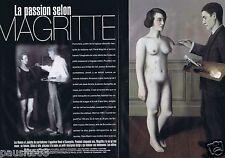 Coupure de presse Clipping 1998 René Magritte (8 pages)