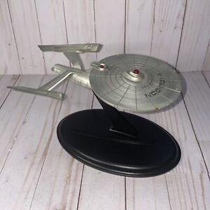 "Franklin Mint Star Trek Starship Enterprise NCC-1701-A Pewter Model 10"" Long"