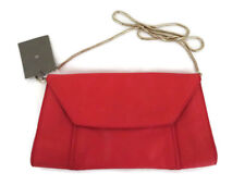 BNWT Witchery Womens Leather Handbag Bag Purse Clutch Poppy
