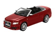 1/18 Maisto Audi RS4 Convertible Red Diecast Model Car Red 31147