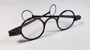 18th Century steel spectacles.  Antique eyeglasses. 1700's.  Nice condition.