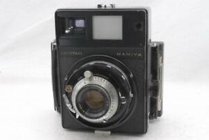 As Is Mamiya Universal Press Camera Sekor 90mm f 3.5 Polaroid Set *A1966