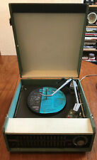 Vintage Philips NG5156 Portable Cased Record Player Garrard Model 1000 Turntable