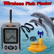 Lucky FFW718 100m Wireless Portable Sónar Localizador De Pescado Alarma 0.7-40m