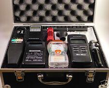 Ghost Hunt Kit - Spirit Box - Laser Pen - 4 EMF Meter - Recorder - Case & More