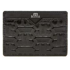 Genuine Leather Slim Card Holder For Men - Minimalist Mens Wallets RFID Blocking