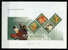 SAMOA PHOTO PROOF OF THE FLOWERS TROPICS FIRST DAY COVER