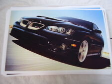2006  PONTIAC  GTO   11 X 17  PHOTO  PICTURE