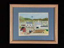 Deborah K. Mayo Framed Print: Just Visiting, Americana, Amish Country Farm 1991