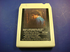 1978 RCA Records 8 Track Tape Charley Pride Burgers and Fries One On One
