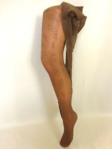 Tights Vintage Le Bourget Fancy New Size 3 FR44/46 UK9.5 USA /D42/