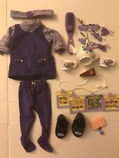 Amazing Ally Set Lot Playmates Interactive Doll Tea Set