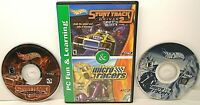 2 Hot Wheels PC Fun & Learning CD-ROM Games STUNT TRACK DRIVER 2 & MICRO RACERS