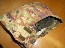 Coprielmetto vegetato nuovo elmetto gorotex softair militaria esercito