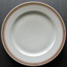BORR Baltimore & Ohio Railroad Dining Car China Gold Rim Pattern Luncheon Plate